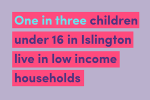One in three children under 16 in Islington live in low income households